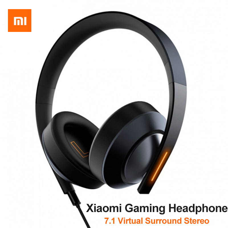 Original Xiaomi Gaming Headphones 7 1 Surround Sound Stereo headset for mobile phone PS4 3 XBox