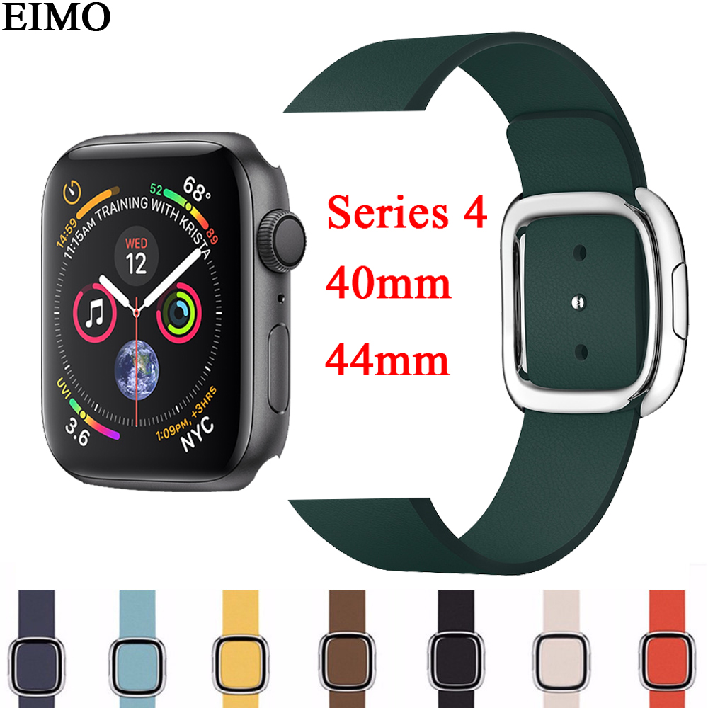 CRESTED Modern Buckle for apple watch 4 band 44mm 40mm ...  CRESTED Modern ...