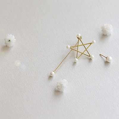 2019 Venta caliente encanto de moda dulce Flash de imitación de estrellas pendientes de cristal en Clip para mujeres pendientes accesorios de joyería