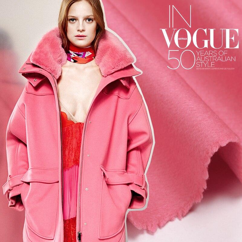 Online Get Cheap Pink Wool Coat Fabric -Aliexpress.com | Alibaba Group