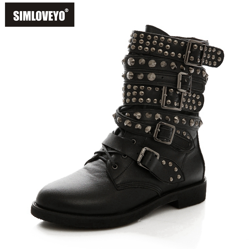 High Quality Stud Combat Boots-Buy Cheap Stud Combat Boots lots ...
