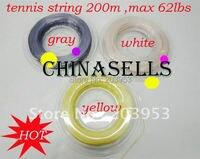 1 יחידות שורת טניס מחרוזת מחבט טניס מחרוזת מחבט טניס מקצועי קו 200 M