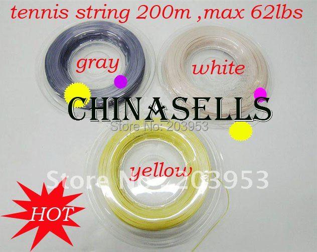 все цены на 1pcs professional tennis racquet string tennis line tennis string racquet racket line 200M