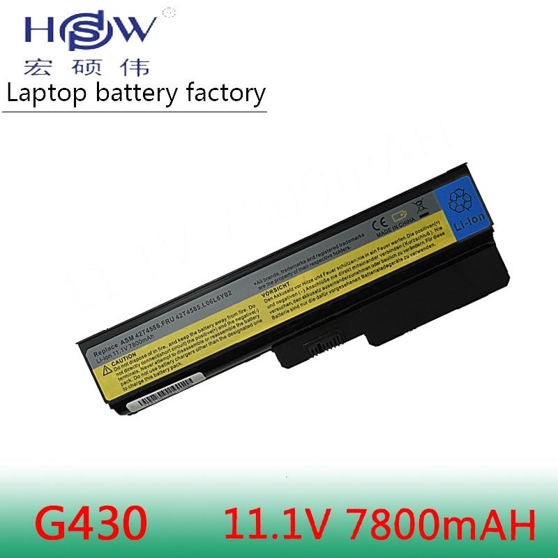 HSW 9cells battery For Lenovo 3000 B460 B550 G430 G430A G430L G430M G450 G450 G450A G450M G455 G530 G530A G530M G550 G555 N500