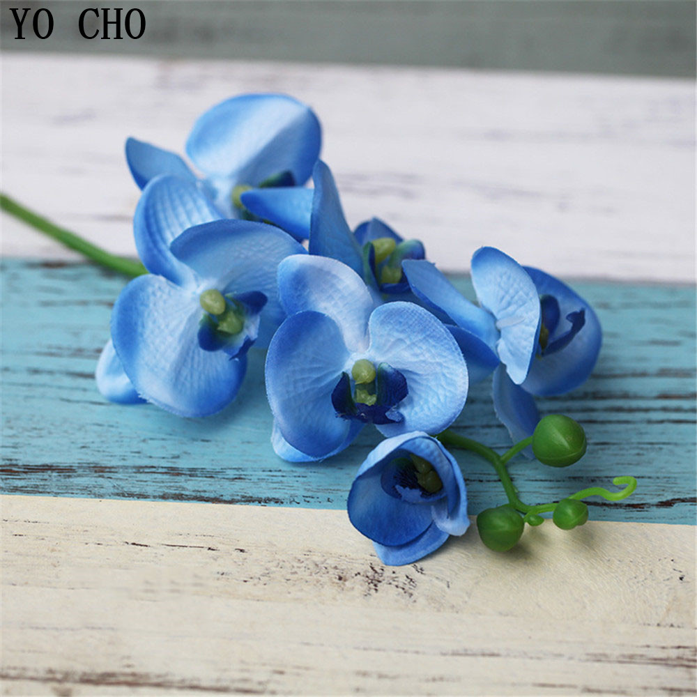 Cheap long artificial silk orchid fake flower home decoration cheap long artificial silk orchid fake flower home decoration accessories wedding decoration mariage party diy christmas flowers in artificial dried izmirmasajfo