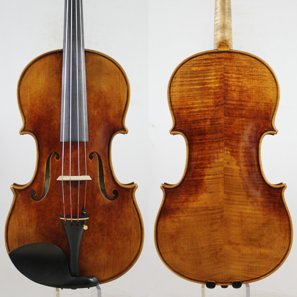 Special Offer! A Professional Viola, 15-16.5 Inch Choice, Oil Varnish, Warm Deep Tone!European Wood,Free Shipping!!!