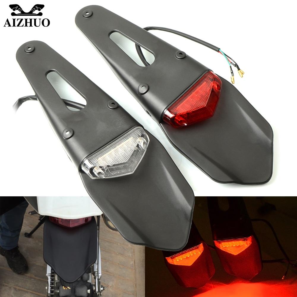 Motorcycle Accessories TailLight Dirt Bike Rear Fender Brake Light LED Tail For Gas Gas EC 2T 4T FSE FSR EC300 EC250 EC 250 300