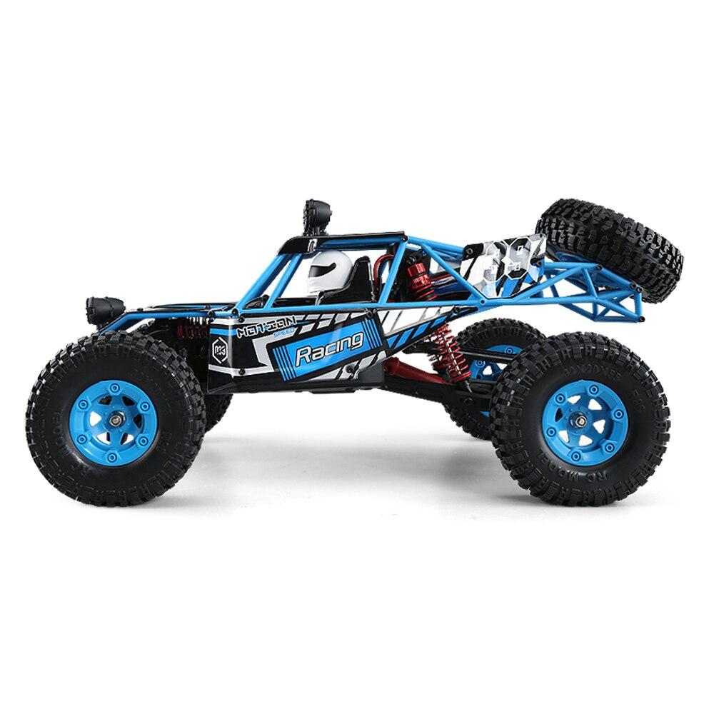 Originale JJRC Q39 1:12 4WD RC Off-Road Truck Car RTR 35 km/h Velocità Veloce 1 kg coppia elevata per Auto Giocattolo F22485
