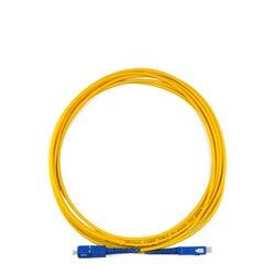 10 Pçs/saco SC UPC 3 M modo Simplex fibra óptica patch cord SC UPC 3 M 2.0mm ou 3.0mm jumper de fibra óptica FTTH cabo livre grátis