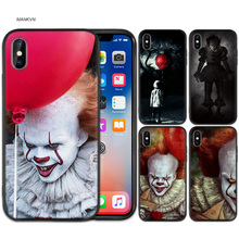 Case Cover for iPhone XS Max X XR 6 6s 7 8 Plus 5 SE 5S Scrub Silicone Phone Cases Soft Stephen Kings It King s