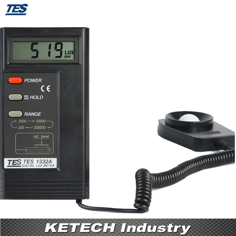 TES-1332A Digital Light Meter,Portable Thermometer