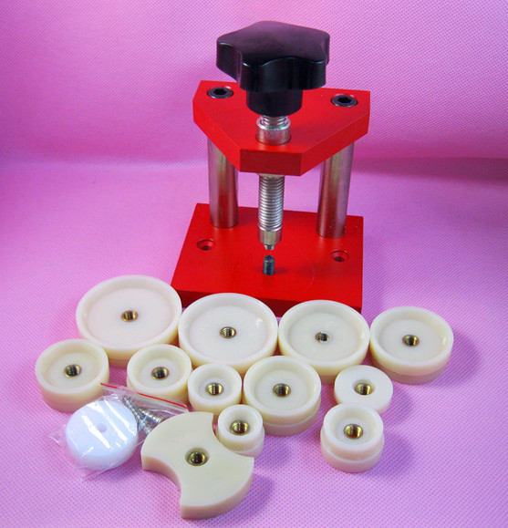 Оптовая продажа, 1 набор инструментов для ремонта часов, инструмент для ремонта часов, открывалка для корпуса часов, кристаллические станки