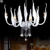 Swan Lamp Modern Minimalist Lighting Creative Personality Living Room Dining Room Den Bedroom Crystal Chandeliers Wwy