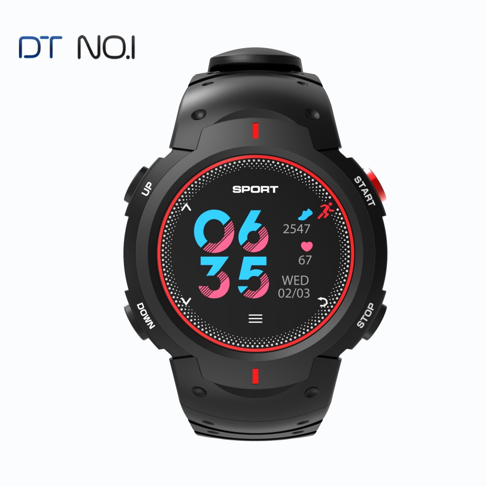 DTNO.1 F13 montre Smart watch ip68 Étanche course à pied montre Multisports Couleur LCD Smart notification Sport tracker pour IOS/android