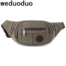 лучшая цена Weduoduo 2019 Fanny Pack Men Waist Bags for Men Fashion Cigarette Phone Case Money Belt for Travel Security Wallet Purse