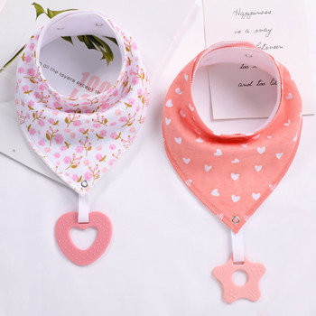 100% Organic Cotton Baby Bandana Drool Bibs and Teething Toys Super Absorbent and Soft Unisex Newborn Baby Bibs premium baby bandana bibs extra soft natural cotton baby drool bib for drooling and teething super absorbent baby shower gift