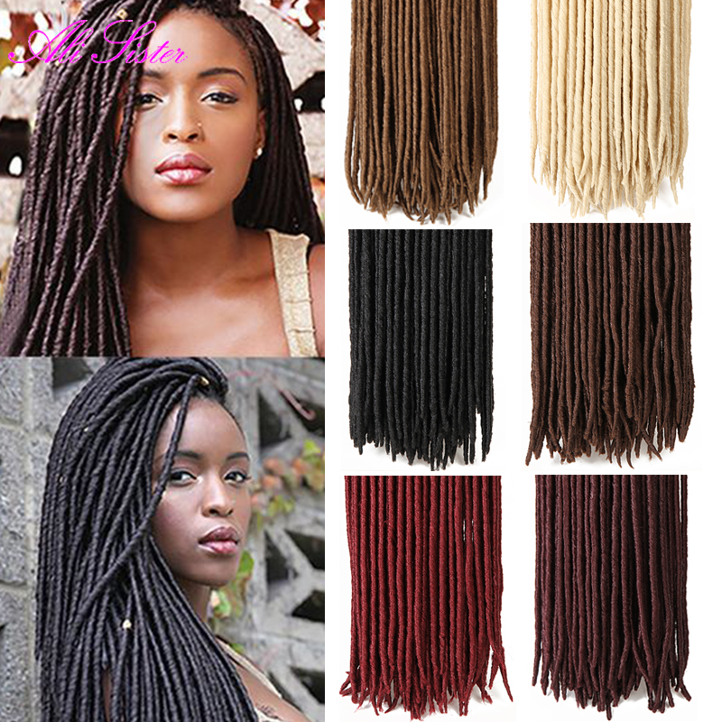 faux locs crochet braids hair extension