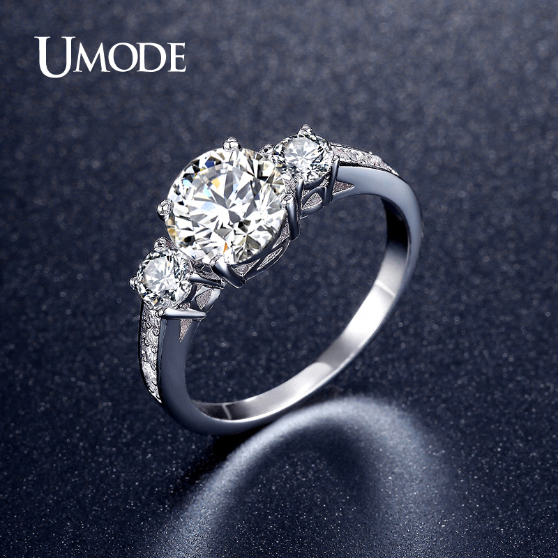 63f403330b5b Bling cúbico Zirconia anillos de boda grabado gratis Nombre Fecha amor  información nunca se decolora Acero