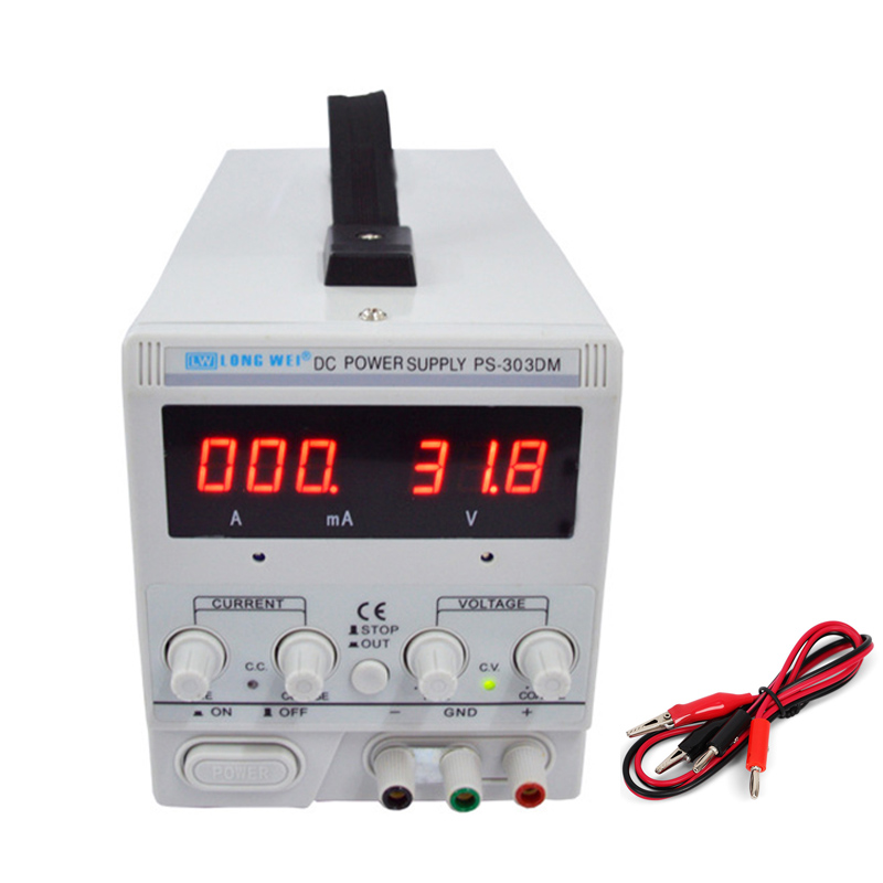 30V 3A DC Power Supply Continuous Power Supply Phone Laptop PC Repair Adjustable DC Voltage Regulator 110V 220V
