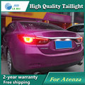 Estilo do carro Lâmpada de Cauda para Mazda 6 Atenza 2014 2015 cauda Luzes Traseiras Led luzes Traseiras Lamp LED DRL + Freio + Parque + Sinal de Parada lâmpada