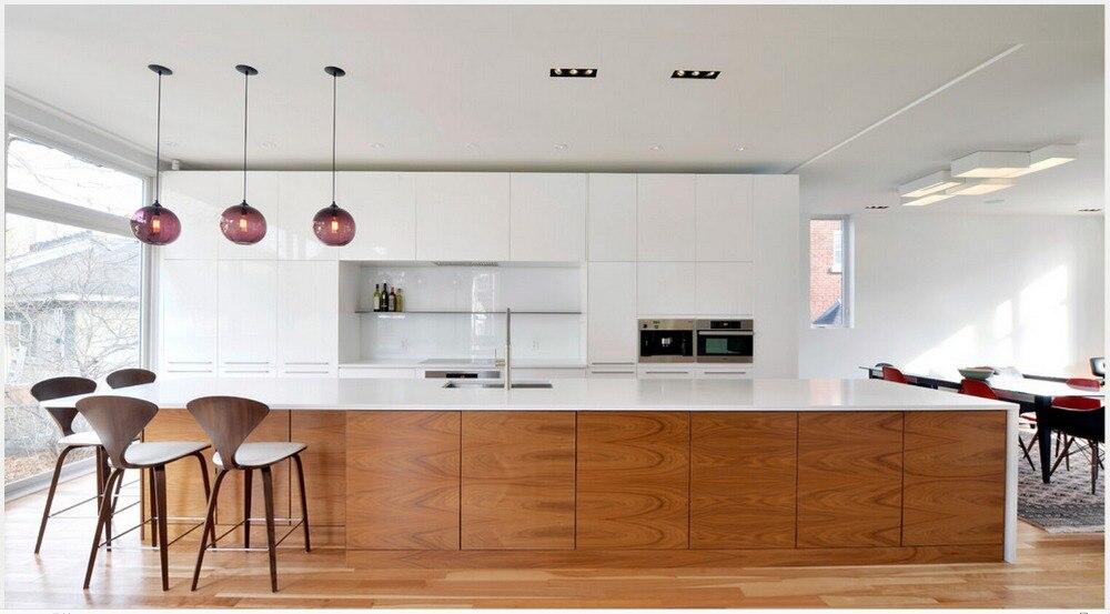 2017 New Design Hot Sales White High Glossy Lacquer Modular Kitchen