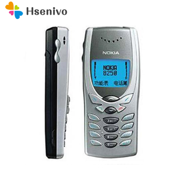 8250 Original Unlocked NOKIA 8250 mobile phone Dual band 2G GSM 900/1800 Classic Cheapest Cell phone refurbished