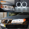 For Volvo S80 S80L 2012 2013 2014 2015 Excellent CCFL Angel Eyes Ultrabright Illumination CCFL Angel