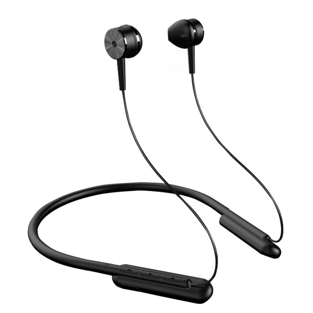 DM-26 Wireless Bluetooth Earphone 5.0 Binaural In-ear Run Neck-mounted Motion Anti-lost Non-slip Sweatproof Waterproof HiFi