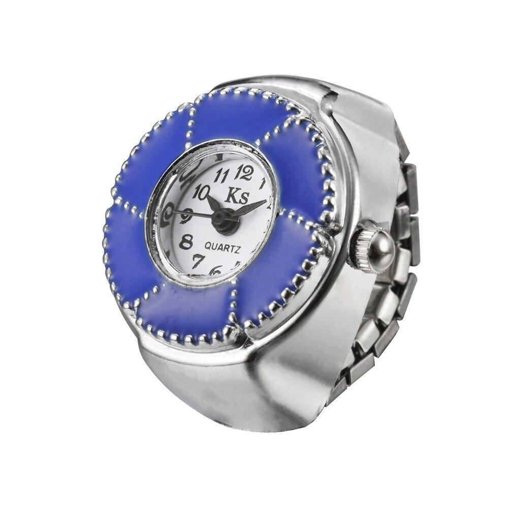 fashion quartz lady girl clock hour women diamond dress watch Creative Fashion Lady Girl Finger Ring watch WH335