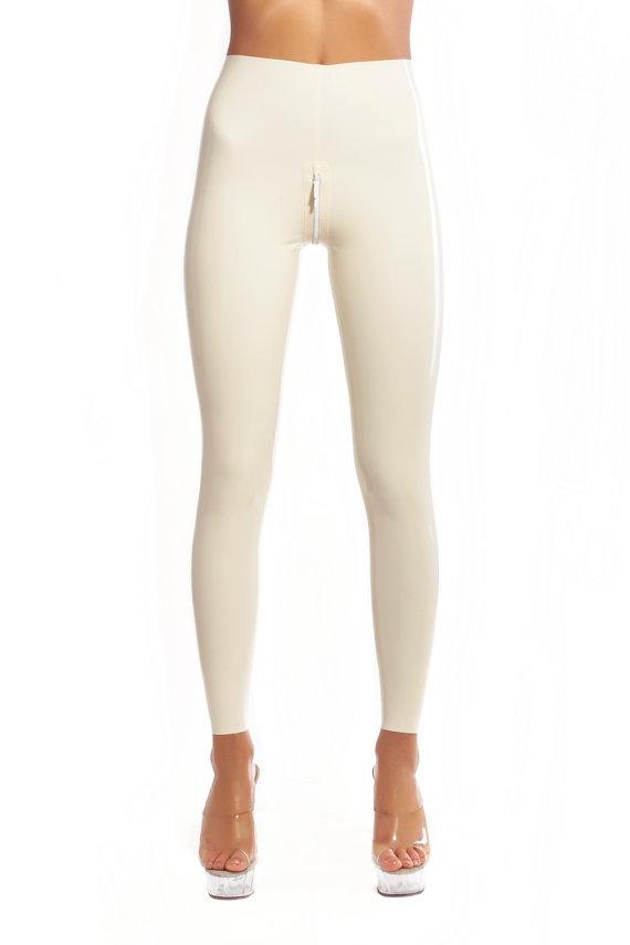 Men's patent leather legging pants, slim fit, pull on closure Cottonique Men's Latex-Free Drawstring Lounge Pants made from % Organic Cotton (Melange) by Cottonique.
