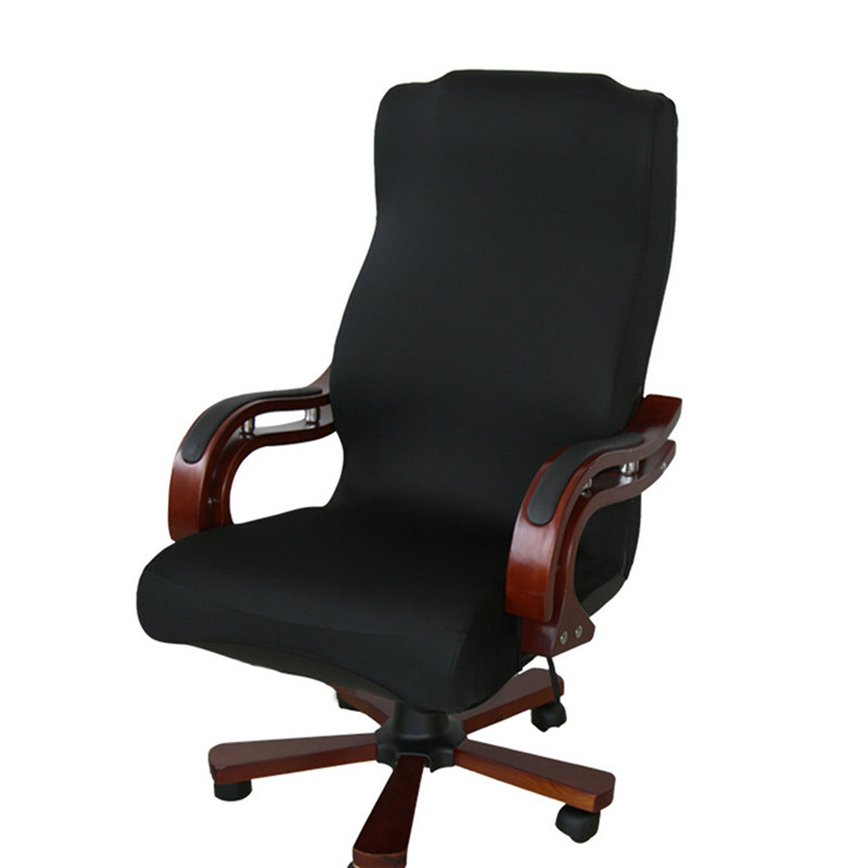 Elastic office computer chair cover side arm chair cover for Armchair side covers