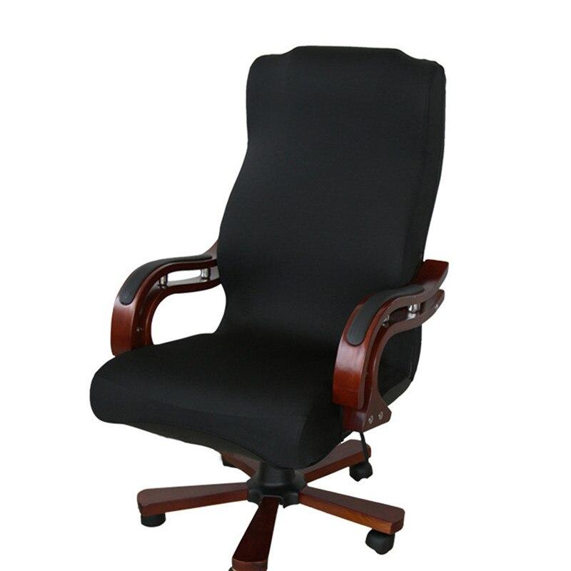 Elastische Büro Computer Stuhl Abdeckung Seite Sessel Abdeckung Recouvre Chaise Stretch Rotierenden Sessellift Abdeckung Ohne Stuhl
