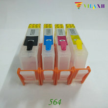 For HP 564 Refillable Ink Cartridges 5510 3070A 5515 6510 7515 B010B B109a B109n B110a B210b B209a B210a