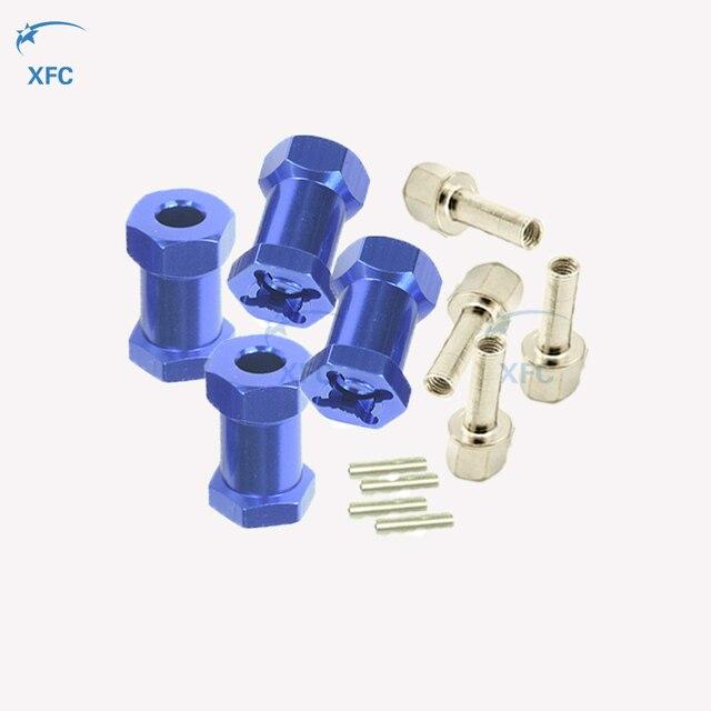 Aluminiumlegierung 12mm Rad Sechskant Adapter 25mm für 1:10 RC Modellbau #2