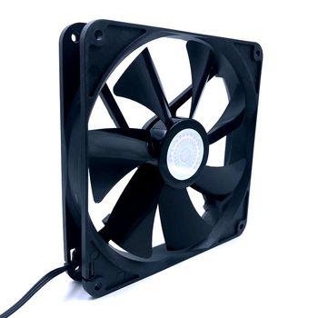 140mm fan new A14025-10CB-3BN-F1 DC 12V 0.14A 3-Wire 3-Pin 140x140x25mm Server Fan 1000RPM