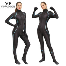 VIP FASHION Marvel Avengers Endgame Women 3D Printed Black Widow Natalia Alianovna Romanova Cosplay Costume Jumpsuits