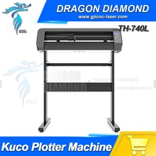Guangzhou High Quality Vinyl Cutting plotter TH740L With Contour Cut And Stand