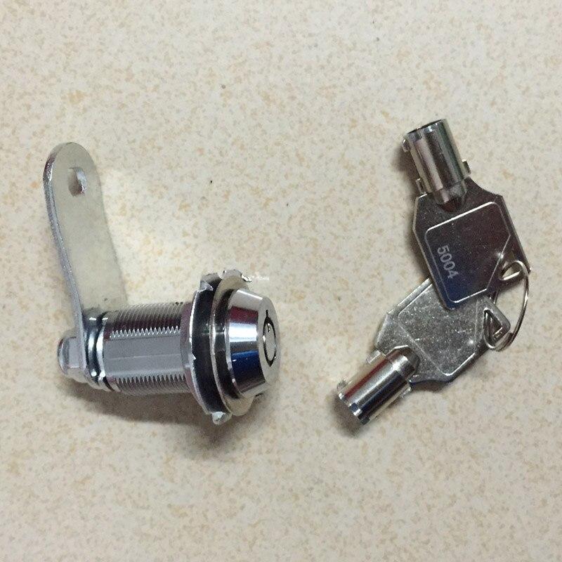 28mm Zinc Alloy Cylinder Cam Lock With 2 Keys Desk Drawer Safety Furniture MailBox File Toolbox For Arcade Machine Cabinet