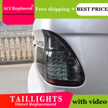 4PCS Car Styling for BMW X5 Taillights 1999-2002  for X5  LED Tail Lamp+Turn Signal+Brake+Reverse LED light