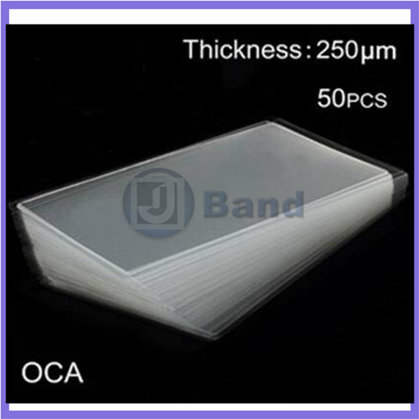 50pcs 250um OCA optical clear adhesive double side sticker For Samsung Galaxy Note 2 N7100 for