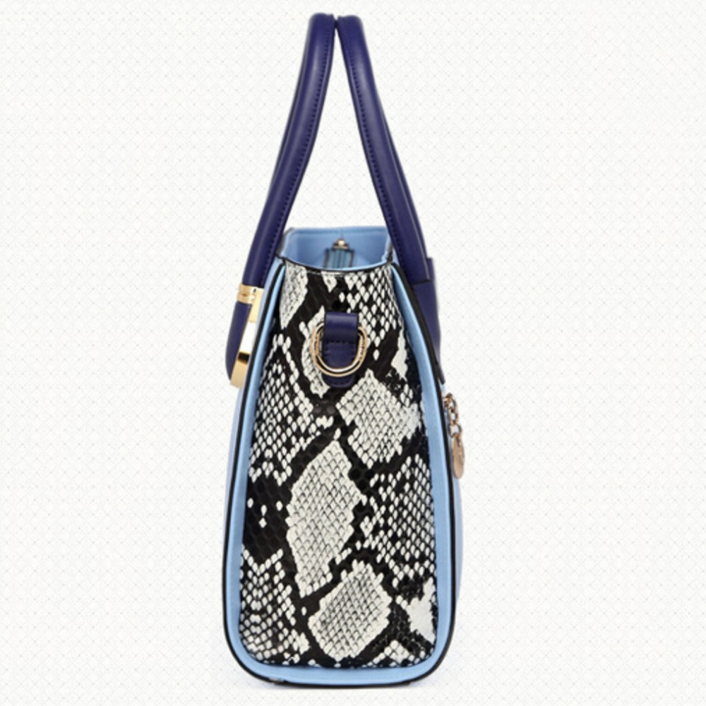 2dc0f89a78 HOT!! woman bags 2015 bag handbag fashion handbags snakeskin designer  handbags high quality patchwork crossbody woman bag-in Shoulder Bags from  Luggage ...