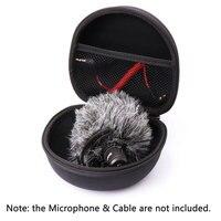 Ulanzi AriMic защитный чехол портативная коробка жесткий Дорожный Чехол для переноски коробка для езды видео камера с микрофоном Me микрофон