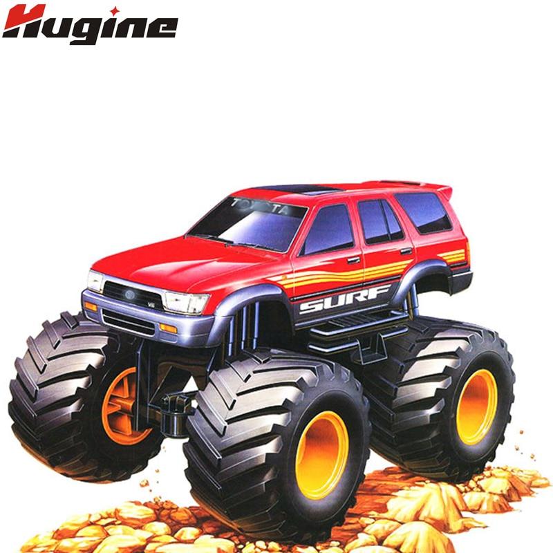все цены на RC Car 4CH Bigfoot Car High Speed Racing Car Remote Control Car Model Off-Road Vehicle Electronic Monster Truck Hobby Toys Model