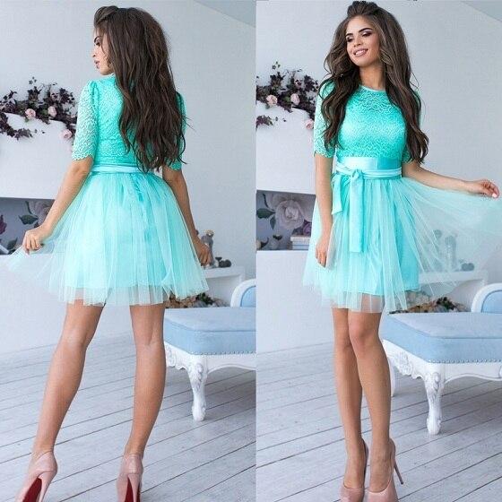 Spring Women'S Lace Dress...