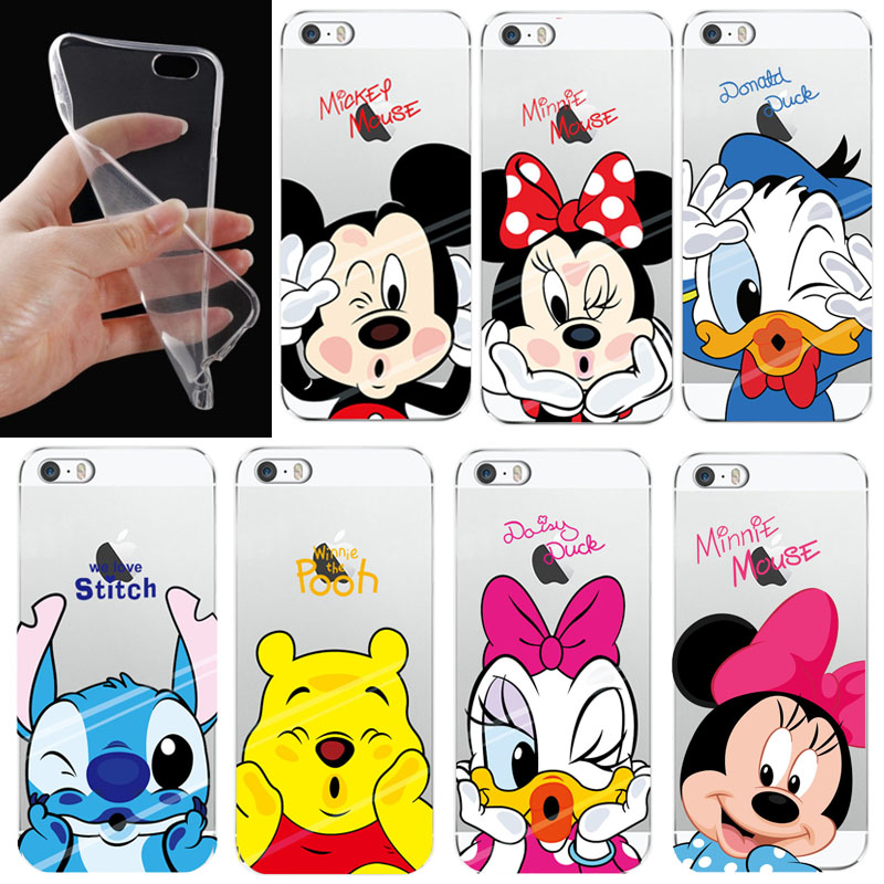 df72352dd84 Mickey Minnie Case For Samsung Galaxy S6 S7 Edge S8 S9 Plus S3 S4 S5 J3 J5  A3 A5
