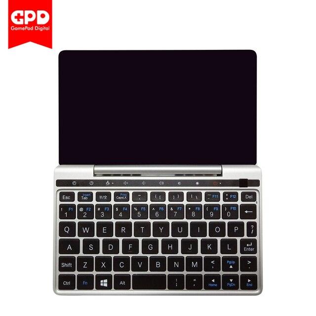 Nuevo cuaderno GPD Pocket2 de 7 pulgadas Mini portátil UMPC Windows 10 sistema CPU m3-8100y 8 GB/128 GB WiFi/Bluetooth portátil