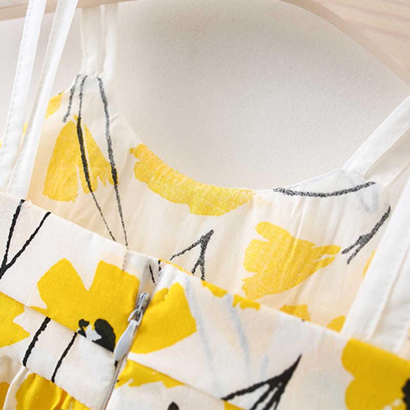 Bear Leader/платья для малышей коллекция 2019 года, новая летняя одежда для девочек платья с разноцветным принтом и повязкой на голову, Платья для новорожденных из 2 предметов на возраст от 6 месяцев до 24 месяцев