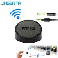 JINSERTA Không Dây Bluetooth 3.5 mét Thanh Receiver Adapter Cho iPhone Loa Stereo Hifi Xe Usb Jack Chơi Điện Thoại Rca Loa Siêu Trầm