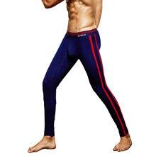 Men's Thermal Underwear winter Warm Cotton Long Johns Pants
