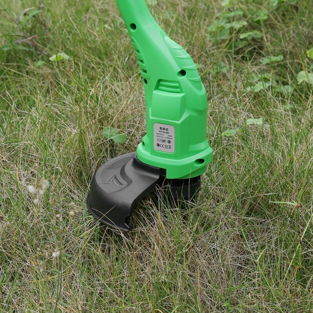 450W Handheld Electric Lawn Trimmer Strimmer Powerful Corded Plug-In Mower Cutter Outdoor Garden Tool EU Plug Electric Tool